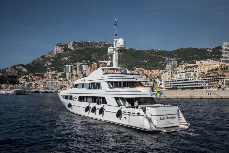 Superyachts at 2018 Monaco Yacht Show