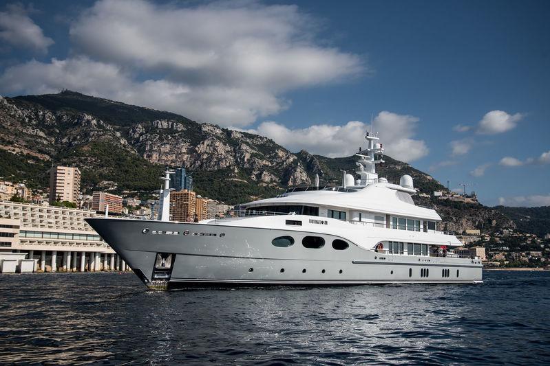Superyachts at 2018 Monaco Yacht Show