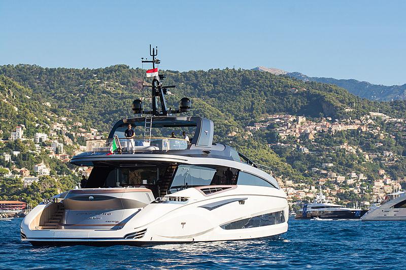 Chao Yono anchored in Monaco