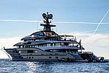 Kismet anchored off Monaco