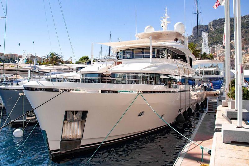 Brigadoon at the Monaco Yacht Show 2018
