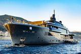 Atlante at anchor in Monaco