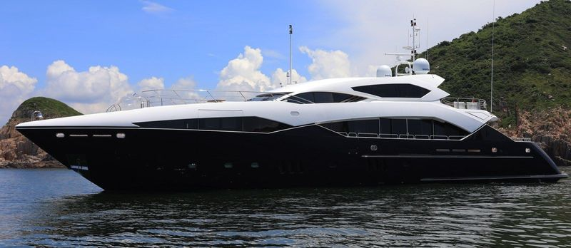 VITAMIN D yacht Sunseeker