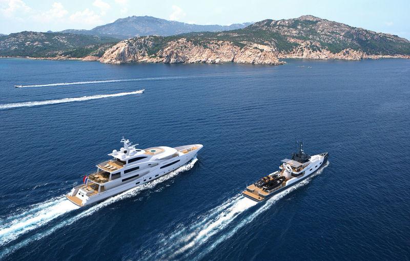 Damen YS 4508 yacht support vessel