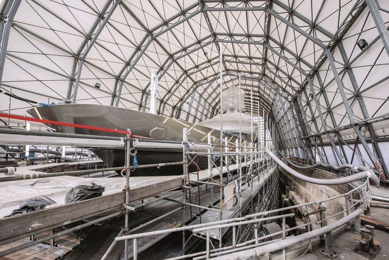 Amico & Co Ente Bacini drydock interior