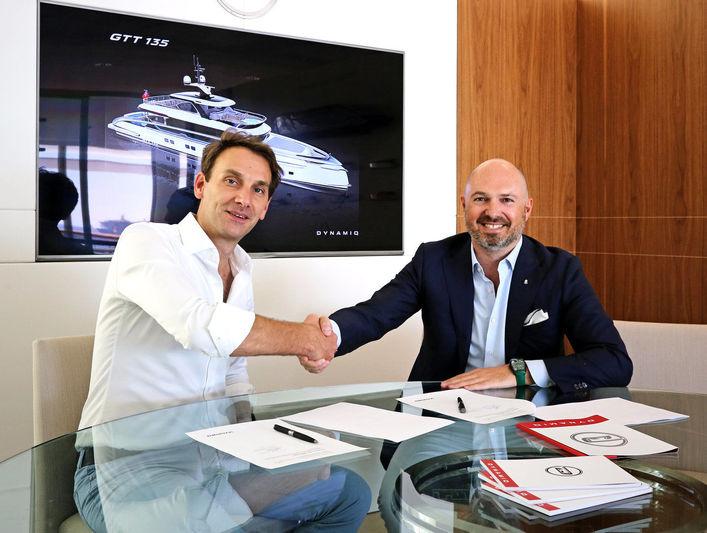 Dynamiq GTT 135 contract signed