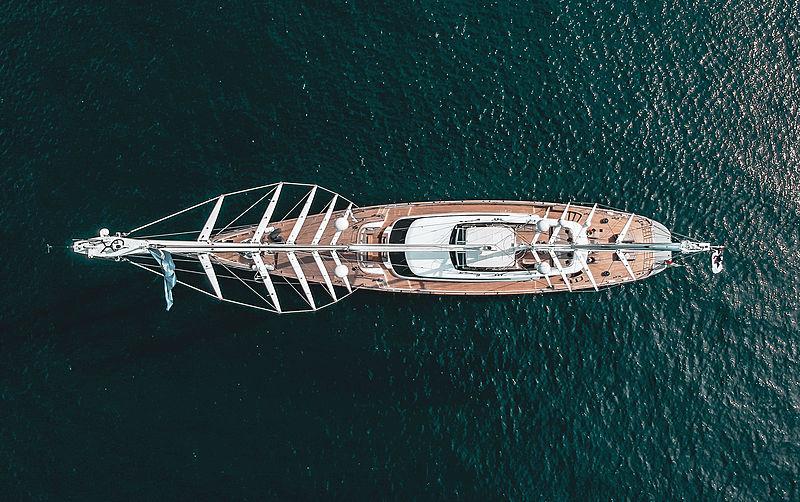 60m Perini Navi sailing yacht Seven in Sardinia