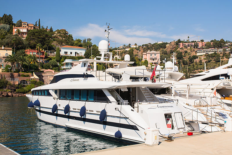 AMMOUN OF LONDON yacht Heesen