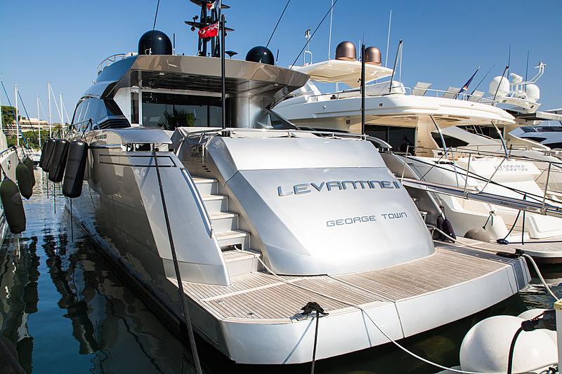 LEVANTINE II yacht Pershing