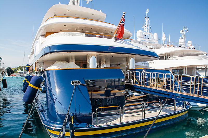 TANUSHA yacht Feadship