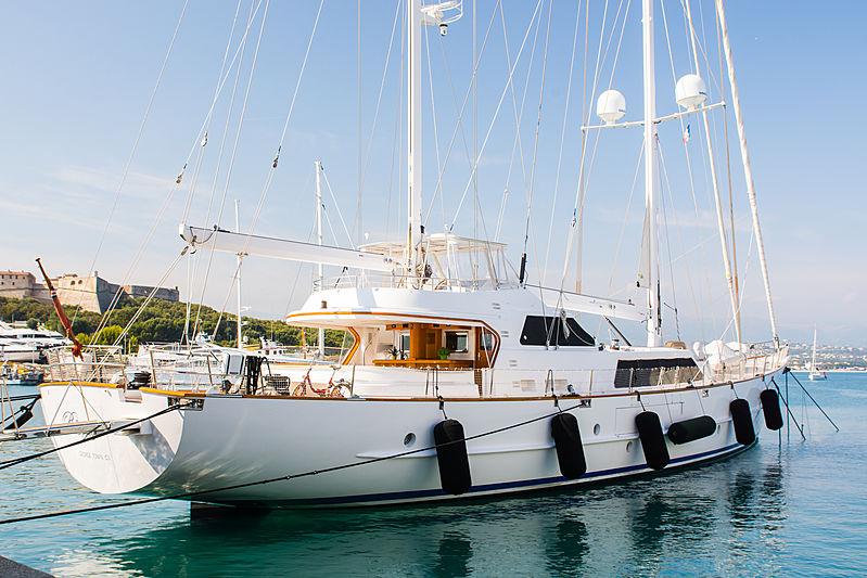 BINZIYAD yacht Ortona Navi