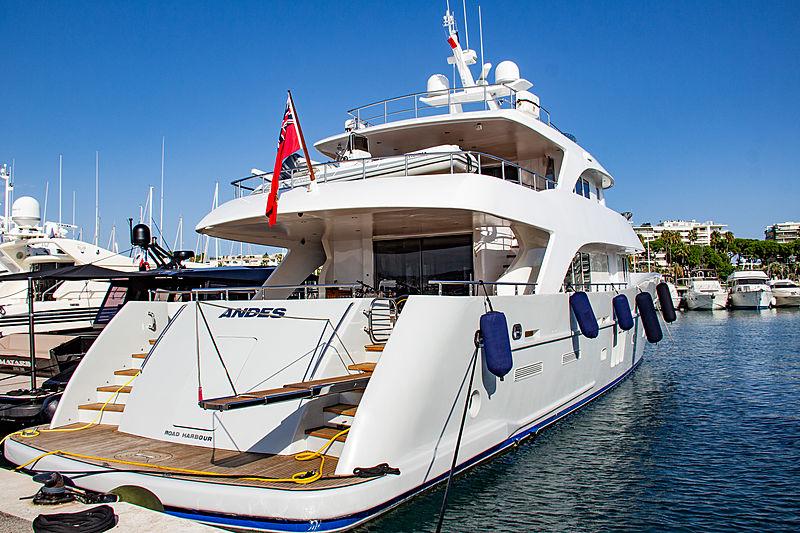 ANDES yacht Astillero Tecnao