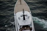 Feadship 96m Vertigo on seatrials North Sea