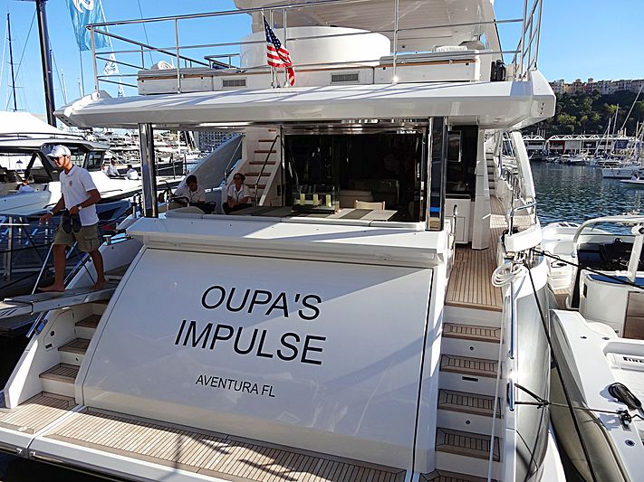 OUPA'S IMPULSE yacht Azimut