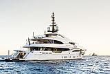 Nerissa anchored in Monaco