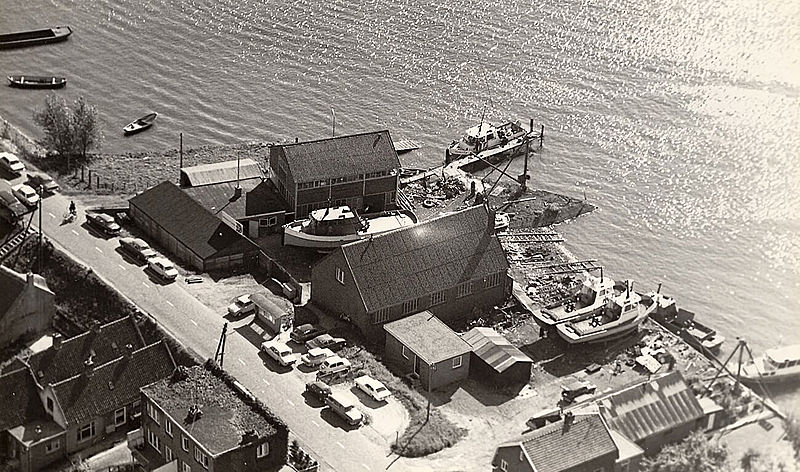 The original Damen yard in Harnixveld