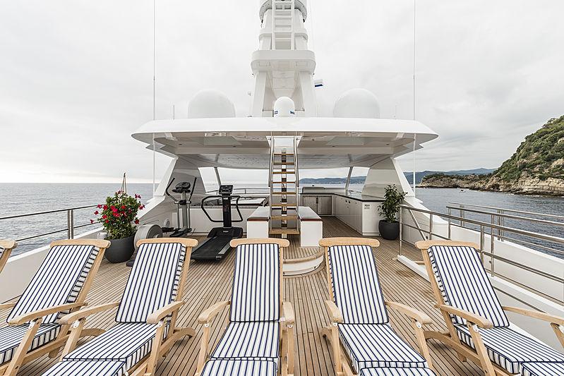 Stella di Mare sun deck