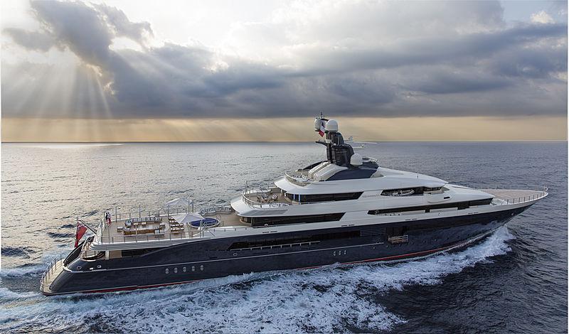 Oceanco superyacht Equanimity