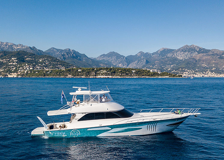 VEEM boat in Monaco