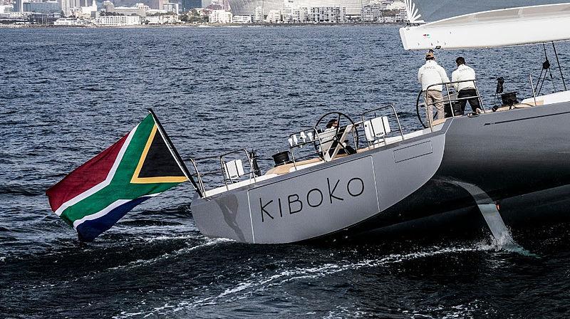 Kiboko Tres sailing