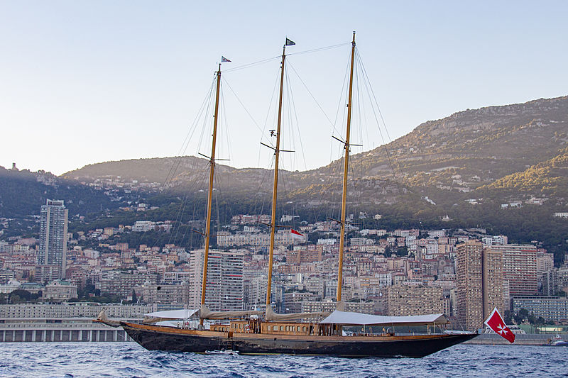 Creole in the bay of Monaco