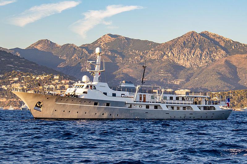 Voyager near Monaco