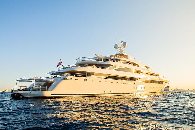 O'Ptasia anchored in Monaco