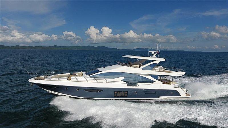 OKS yacht Azimut