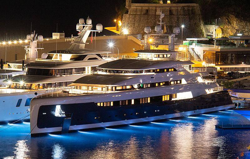 Illusion Plus at the Monaco Yacht Show 2018