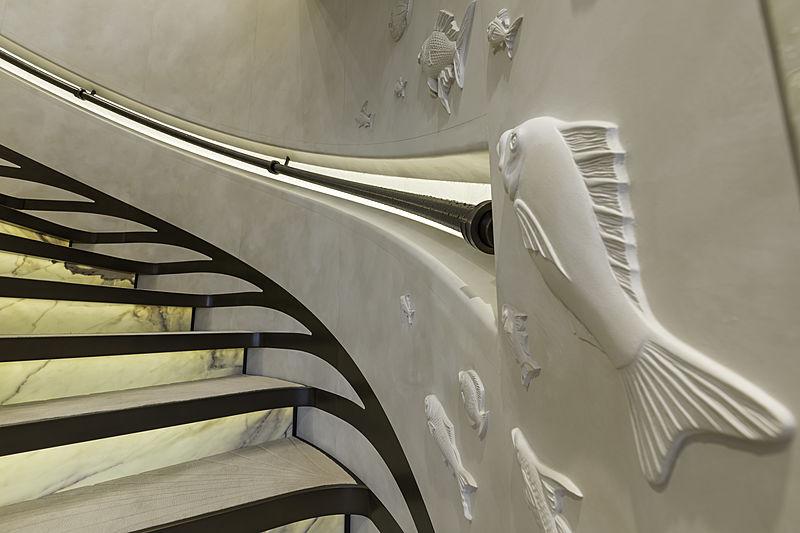 DAR staircase