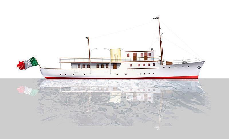 CACOUNA yacht Camper & Nicholsons Shipyard