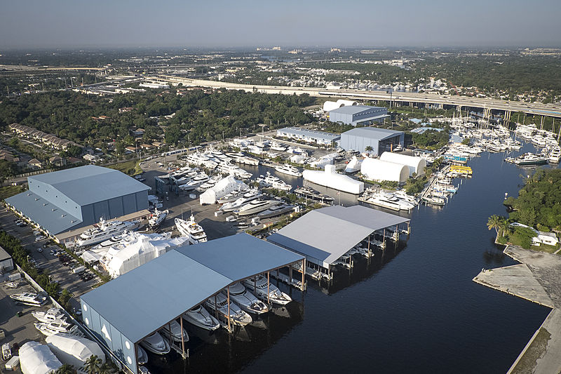 Lauderdale Marine Center shipyard