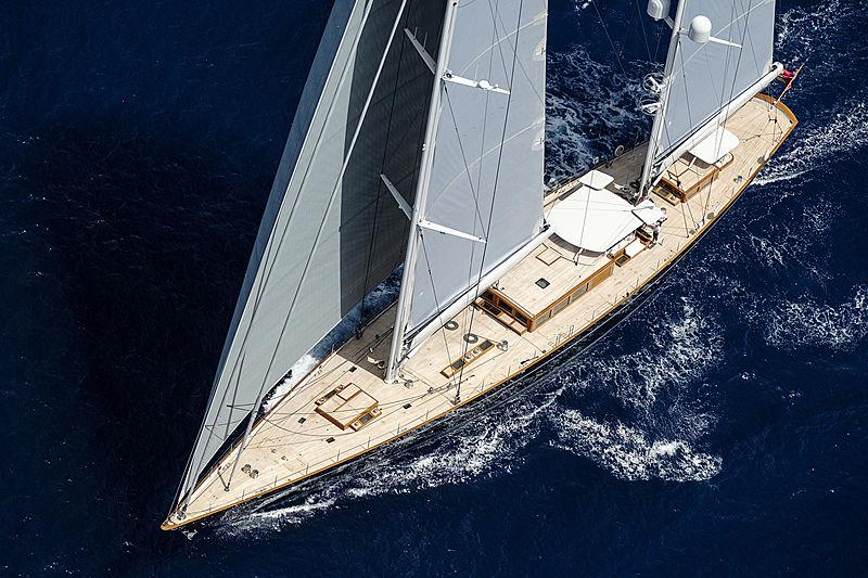 Aquarius sailing off Palma de Mallorca