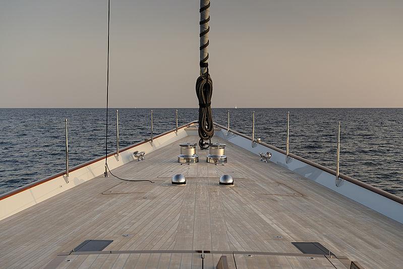 Aquarius front deck