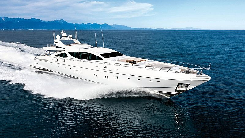 Mangusta 165 superyacht Misunderstood