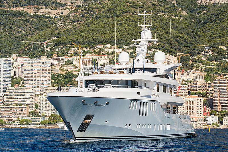 Odessa II anchored in Monaco
