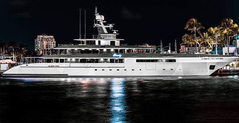 Codecasa superyacht Eternity in Fort Lauderdale