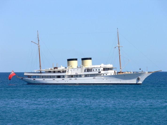 TALITHA yacht Krupp Germania Werft