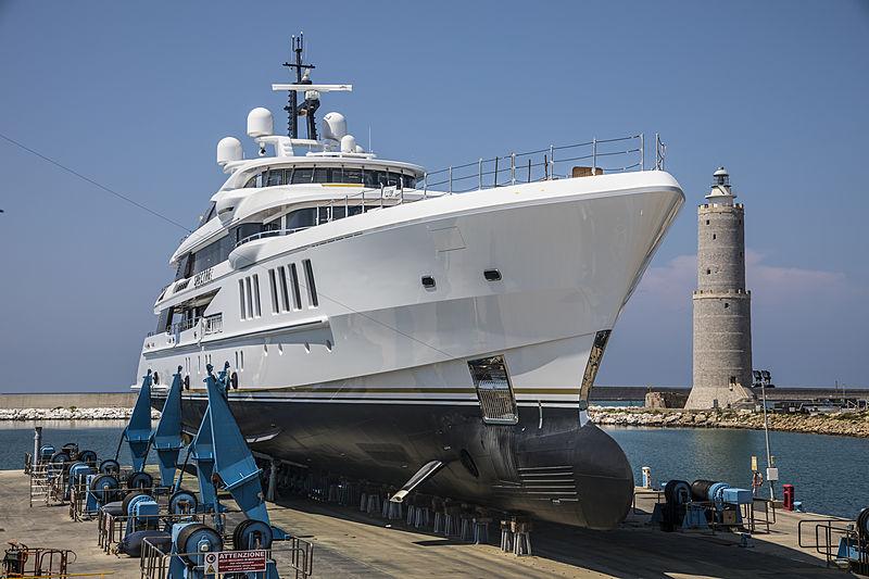 Benetti superyacht Spectre launch