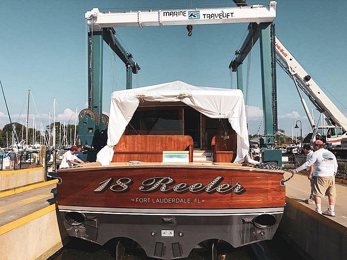 Motor yacht 18 Reeler launch
