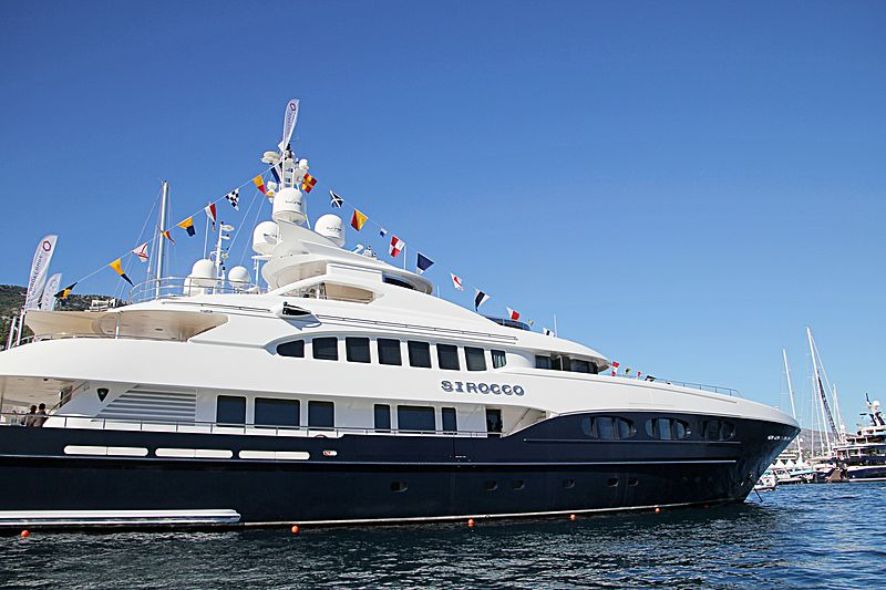 Sirocco at the Monaco Yacht Show 2015