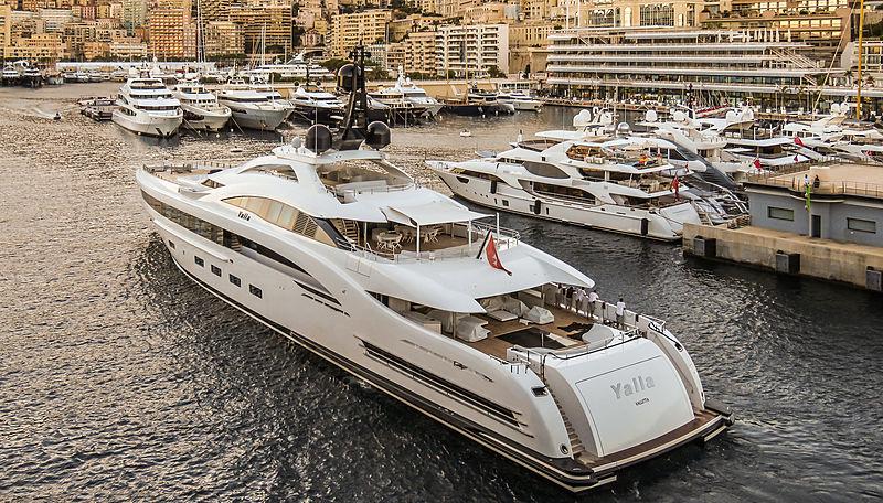 73m motor yacht Yalla in Monaco