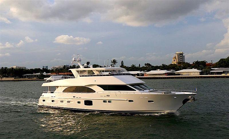 FREEDOM  yacht Hargrave