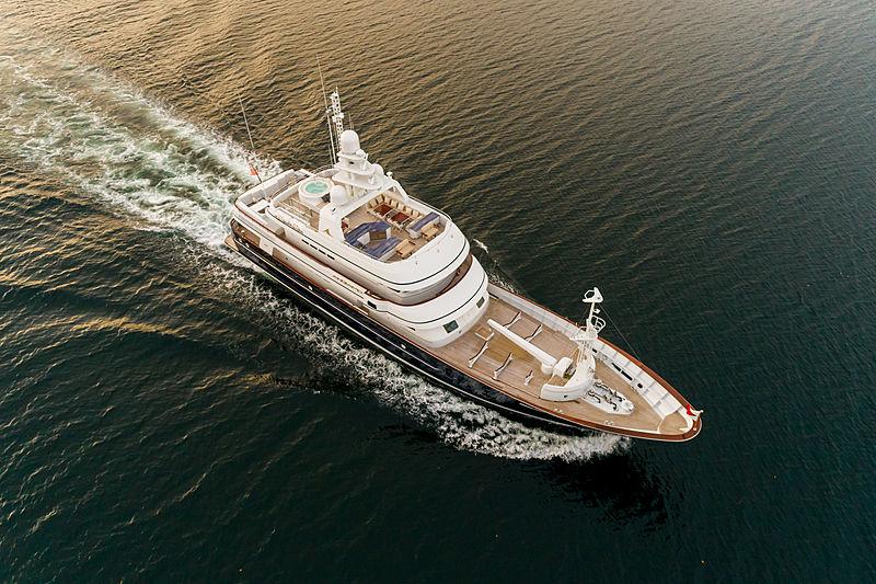 Angiamo yacht in Panama