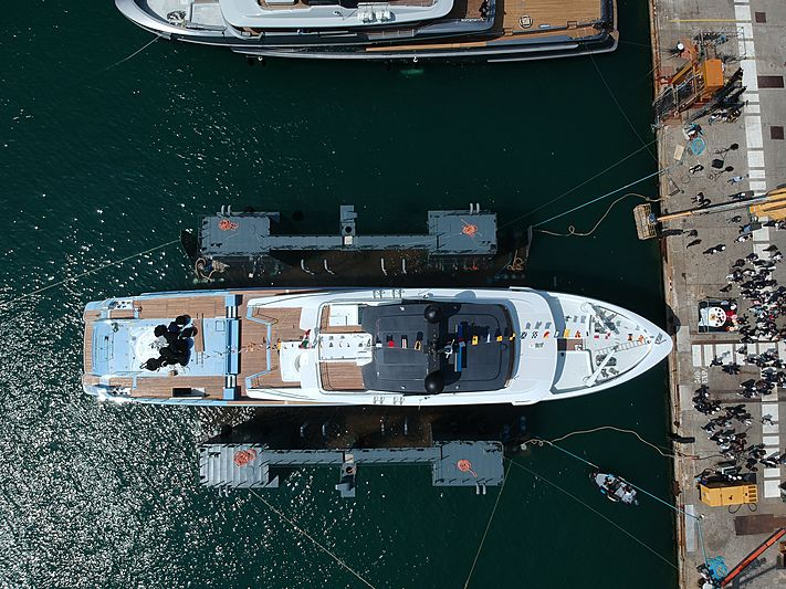 Ocean Dreamwalker III launch in La Spezia