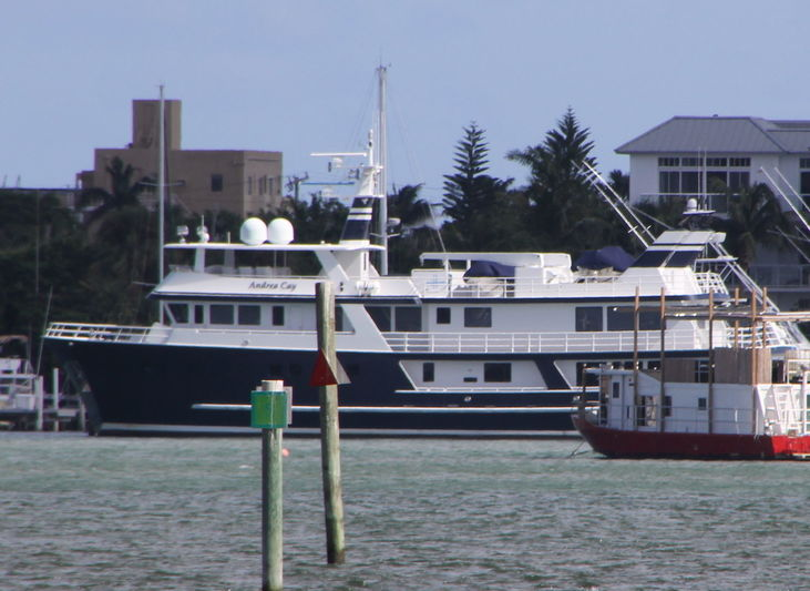 ANDREA CAY yacht ABD Aluminum