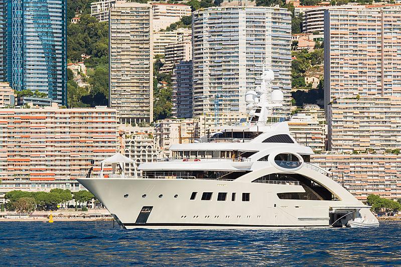 Ace anchored in Monaco