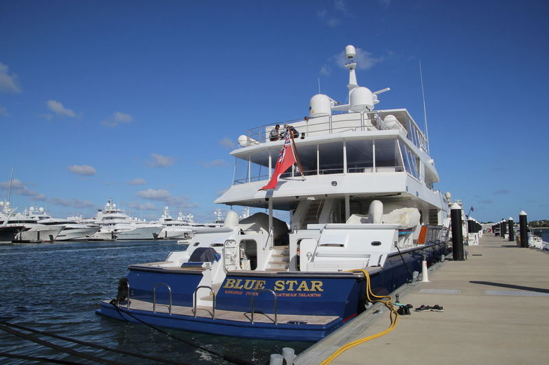 BLUE STAR yacht Keith Marine