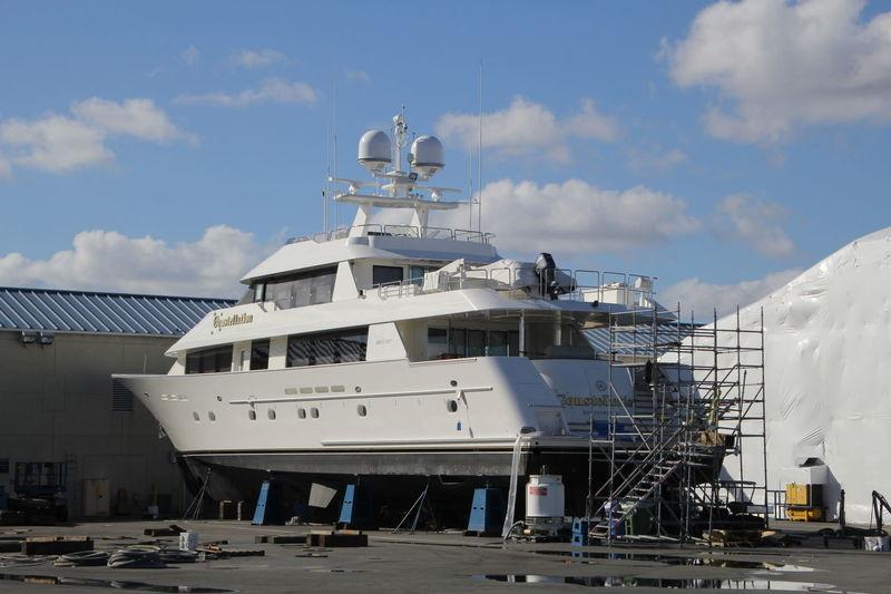 CONSTELLATION yacht Westport