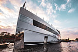 Feadship motor yacht Project 814 launch